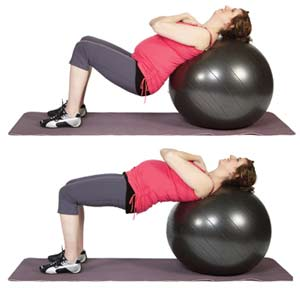 stability-ball-bridge