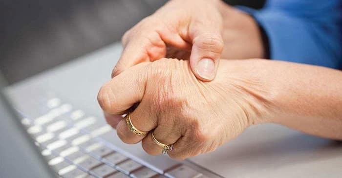 علل و انواع آرتروز مچ دست